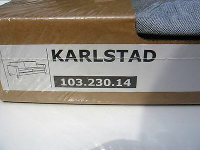 New IKEA KARLSTAD cover set for 3-seat sofa in Knisa light GREY