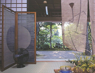"Japanese Rush Grass Blind Screen "" Madoka"" for inndoor made in Kumamoto."
