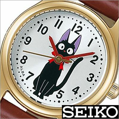 Kiki's Delivery Service Alba Seiko Character Watch Ladies Type Brown belt japan