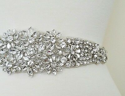 JANUARY SALE!! = Crystal Wedding Sash Belt = CHOOSE FROM 7 COLORS
