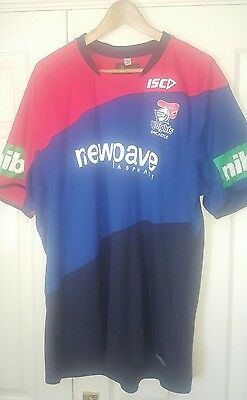 Newcastle Knights ISC rugby league gym tshirt  NRL Australia 3xl XXXL XXL BNWT