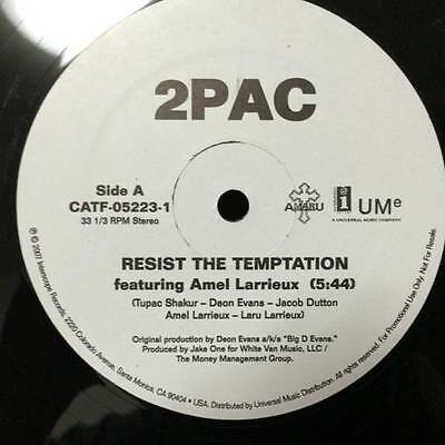 2Pac ‎– Resist The Temptation / Dopefiends Diner 12""