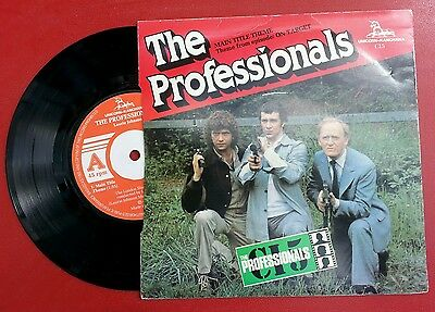 """The Professionals/The New Avengers themes 45 7"""" Laurie Johnson"""