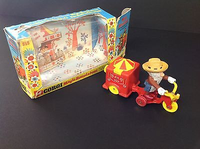 Corgi 859 Magic Roundabout Mr McHenry's Trike + Zebedee Box RARE VINTAGE 1972-4