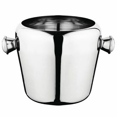 Olympia Mini Ice Bucket Made of Stainless Steel 1Ltr 115(H) x 125(Ø)mm