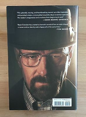 BRYAN CRANSTON Biographie SIGNIERT SIGNED BREAKING BAD Star Walter White RAR