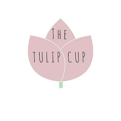 2x The Tulip Cup Period Menstrual Cup Diva Moon  £29.99