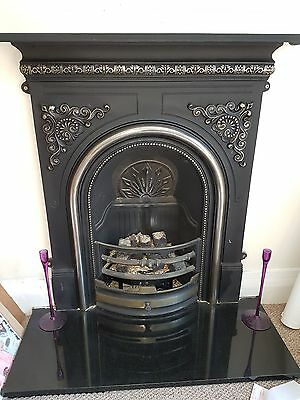 Victorian Gas Fireplace and surround