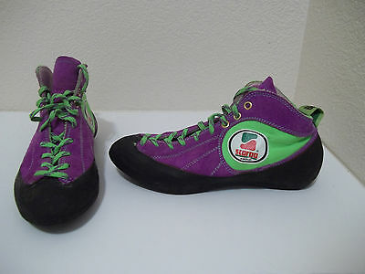 Mens Or Womens Asolo Scarpa Multi Color Climbing Shoes Size 40