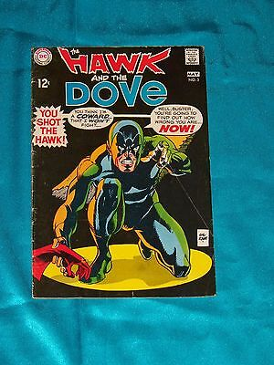 The HAWK & The DOVE # 5, May 1969, Story & Art By GIL KANE, VERY GOOD Condition