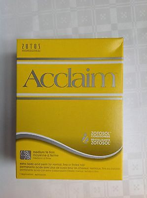 Zotos Professional Acclaim - Extra Body Acid Perm For Normal, Fine & Tinted Hair