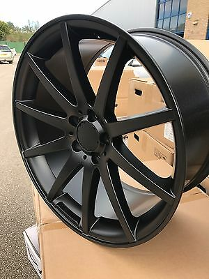 """4 19"""" MERCEDES AMG STYLE ALLOY WHEELS Alloys Rims 5x112 Staggered C E S Class"""