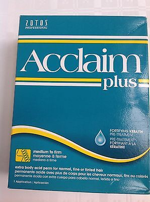 Zotos Acclaim Plus - Extra Body Acid Perm  For Normal, Fine & Tinted Hair