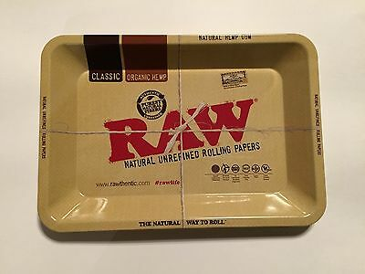 RAW Mini Metal Rolling Tray. Official Product.