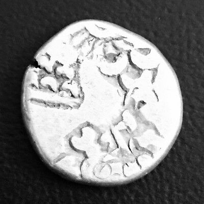350-300 BC,One Marshapana,Magadha Janapada,Punch Mark Silver Ancient Coin,India.