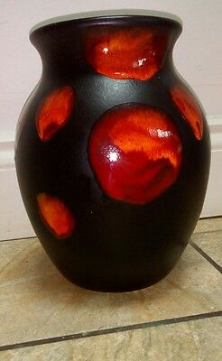 Poole pottery galaxy 25cm vase A1 condition