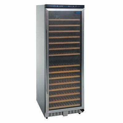 Commercial Polar Dual Zone Wine Cooler 155 Bottles Hinged