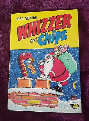 Whizzer and Chips Annual - 1984 - Used but Good Condition