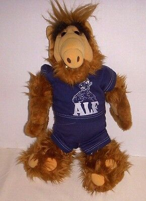 "Vintage Alf Plush Doll With Original "" Alf "" Sweatsuit - 1986 Coleco"