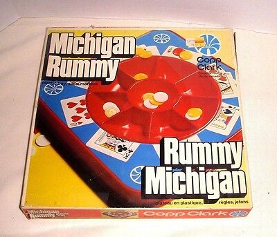 Vintage Michigan Rummy Game - Copp Clark Company 1974 - #a443 - 100% Complete