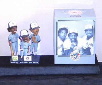 Bell Moseby & Barfield Bobblehead - Blue Jays Stadium Give Away - Ltd Edition