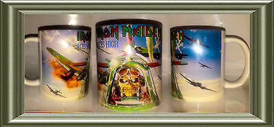 Iron Maiden Aces High Powerslave Battle Of Britain  Mug