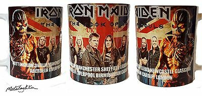Iron Maiden-Book Of Souls- Uk Tour 2017 Mug
