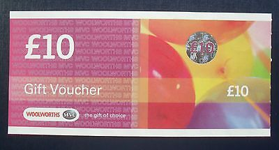 Woolworths £10 Gift Voucher Very Rare And In Mint Condition Never Used