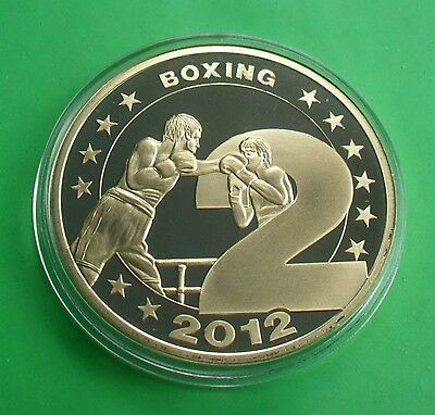 2012 Proof England Boxing