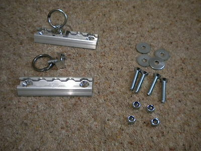 Unwin Surface Tracking 2 x 5 inch long Inc Bolts, Nuts & Washers Cargo Ring New
