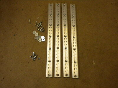 """Unwin Low Profile Tracking 4x 25 """"  Inc Bolts Disabled Etc Loads of uses  New"""