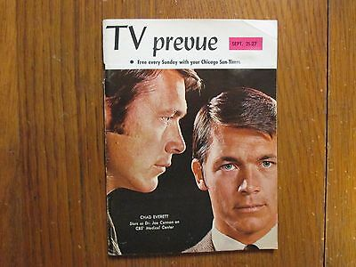Sep-1969 Chicago Sun-Times TV Prevue Mag(CHAD EVERETT/MEDICAL CENTER/THE BEATLES