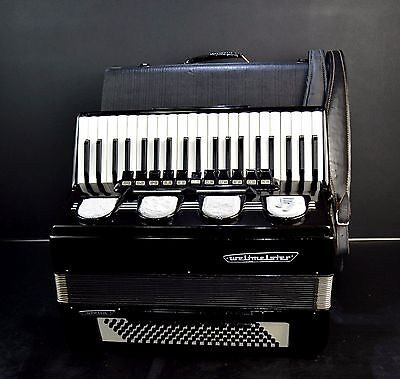 GERMAN TOP ACCORDION WELTMEISTER STELLA 120 bass+ORIGINAL CASE&BRAND NEW STRAPS!