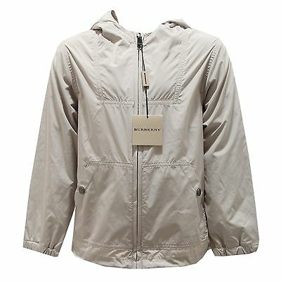 0111O giubbotto beige BURBERRY bimbo jackets kids