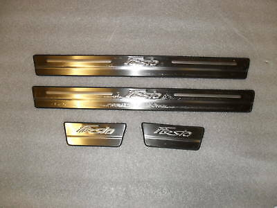 FORD FIESTA 2009 -2017 Door Sill Plate Stainless Steel AFTERMARKET PART YT-FS001