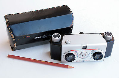 *c1955* ● Lennor Eng. DELTA STEREO  LaCroix f6.3 ● RARE US 35mm film stereo 3D