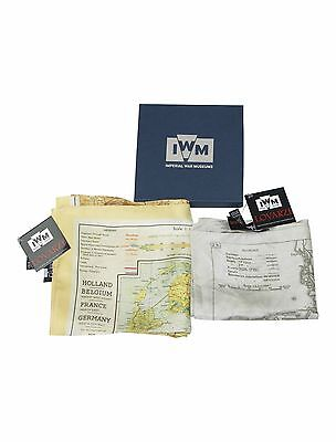 Official Escape Map Scarf Silk - Set of 2 Scarves - maps for sale world war 2
