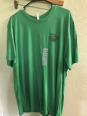 Kentucky Bourbon Trail Mash Appeal Completed T-Shirt Men's XXL Green