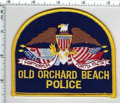 Old Orchard Beach Police (Maine) Shoulder Patch - new from the 1990's