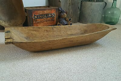 Lovely antique dough bowl  large fruit bowl /rustic