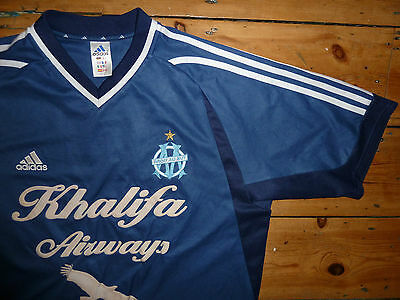 +OLYMPIQUE MARSEILLE+ L+02 THIRD FOOTBALL JERSEY+ CAMISETA MAILLOT MAGLlA TRIKOT