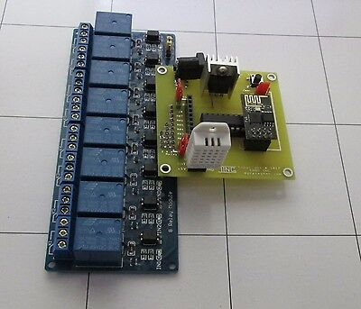 2/4/8 Channel DC 5V Relay WiFi Adapter Module - Arduino Raspberry Pi ARM AVR DSP