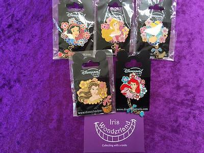Royal Princess - complete serie - old DLRP Disney pins - HTF - RARE