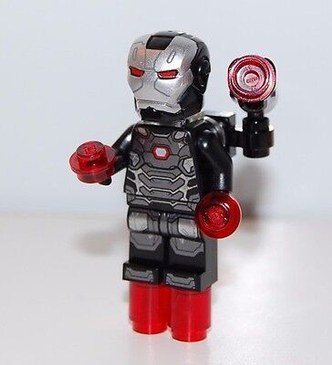 Lego Genuine War Machine Minifigure Minifig from 76051 Super Hero Airport Battle