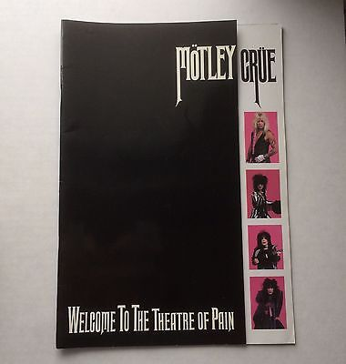 Motley Crüe / Theatre Of Pain / Tour Program / Motley Crue