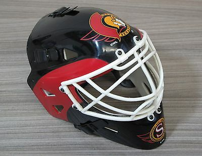 Ottawa Senators - Riddell Mini NHL Ice Hockey Goalie Helmet / Mask