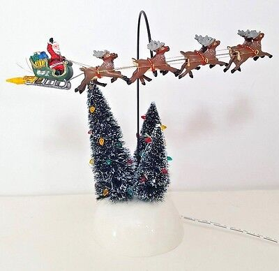 Department 56 National Lampoon Christmas Vacation Animated Flaming Sleigh