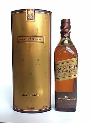 Johnnie Walker gold label aged 18 years 20 cl full & sealed Scotch Whisky Bottle