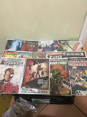 Comic Book Lot Mixed DC Marvel Big Lot Of Books Great Condition