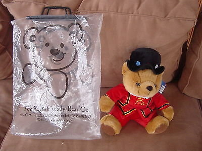 English Teddy Bear Company Royal Bear MINT ORIGINAL BAG & TAGS !!